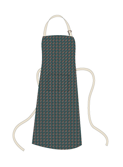 - christmas berries apron by frances