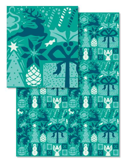- Winter Woodcut by Wildbrook Press