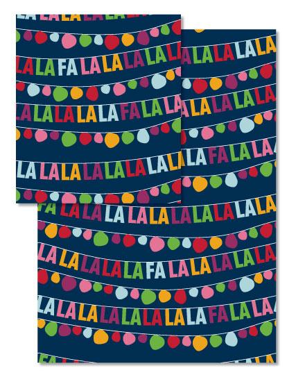 - FA LA LA Banner by Ashlee Townsend