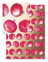 Pomegranate Polka by Sabine McClintock