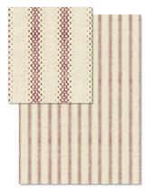 Textured Block Stripe by Rebecca Rueth