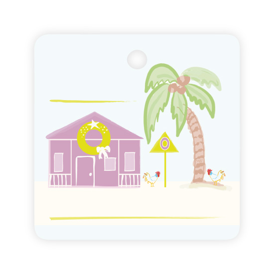 - Key West Holiday Tag by Creative Overtime