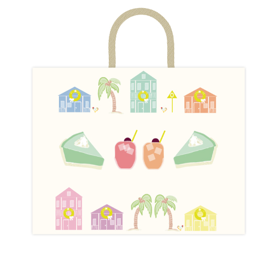 - Key West Holiday Bag by Kelly Corcoran