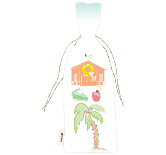 - Key West Wine Bag by Kelly Corcoran