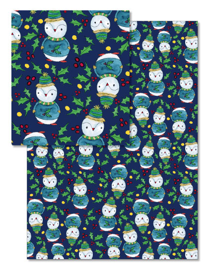 - Christmas Penguin by Lu Haddad