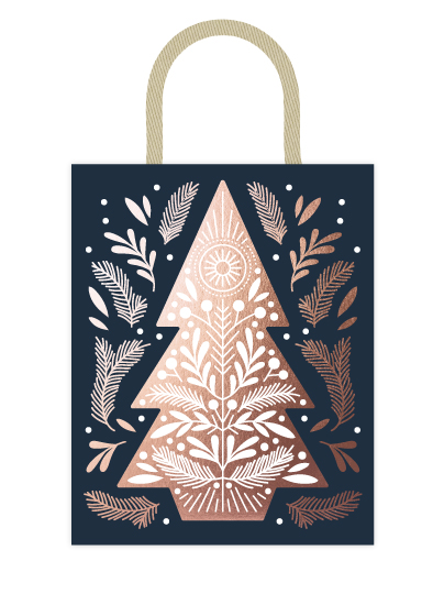 - Nordic Pine Tree by Paper Raven Co.