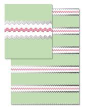 Ric Rac Stripes by Gigi and Mae Studios