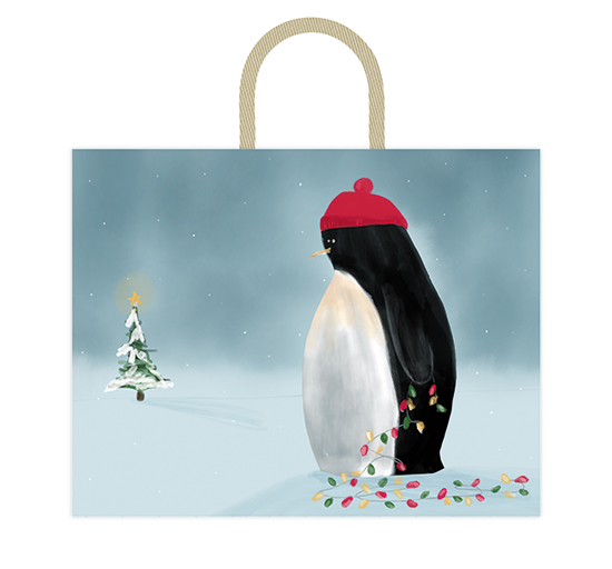 - penguin decorates by Alicia Abla