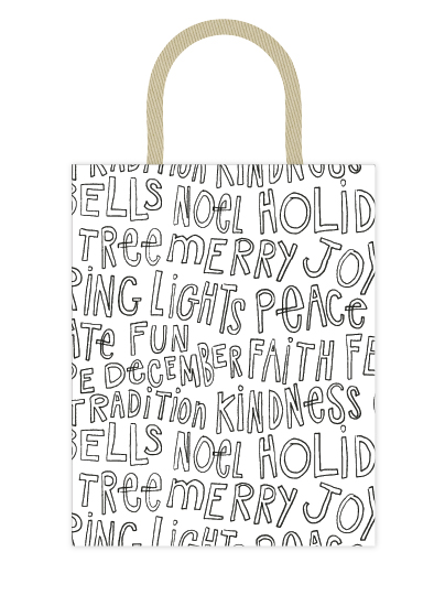 - all about christmas bag by Lili Niclass