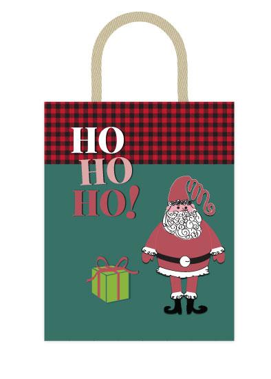 - Santa Bag by Jennifer Warren