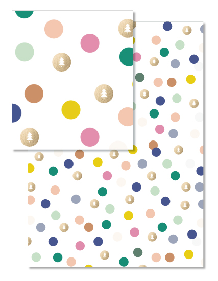 - Colorful Polka Dots by Travel and Tart