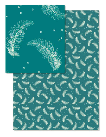 - Snow and Ferns by Madrona Press