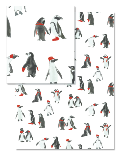 - Penguins by Leanne Friedberg