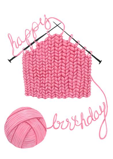 greeting card - Crafty Birthday by Brenna Daugherty