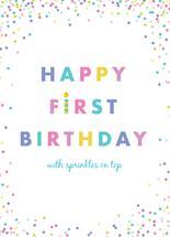 Birthday Sprinkles by Maria Alou