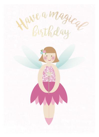 greeting card - Fairy magic by frau brandt