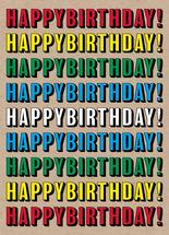 Big Bold Birthday by Audra Candelaria