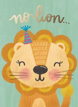 No lion...