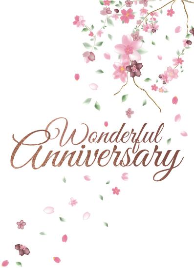 greeting card - Happy Anniversary by Nadia Irianto
