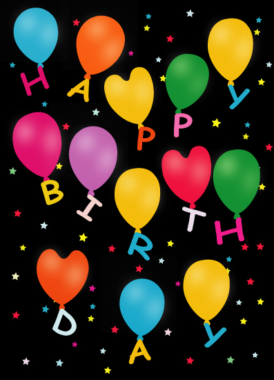 greeting card - Happy Birthday Greetings by Samiran Sarkar