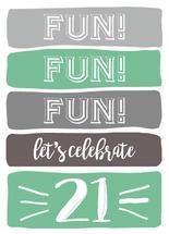 fun twenty-one by LouisaKay