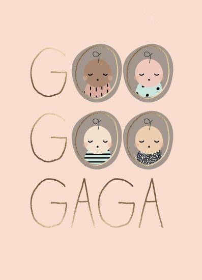 greeting card - Goo Goo Babies by Susan Brown