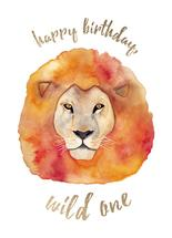 Wild Birthday by Erin Phipps