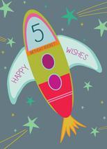Birthday Rocket by Paper Etiquette