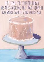 no more candles by Alicia Abla