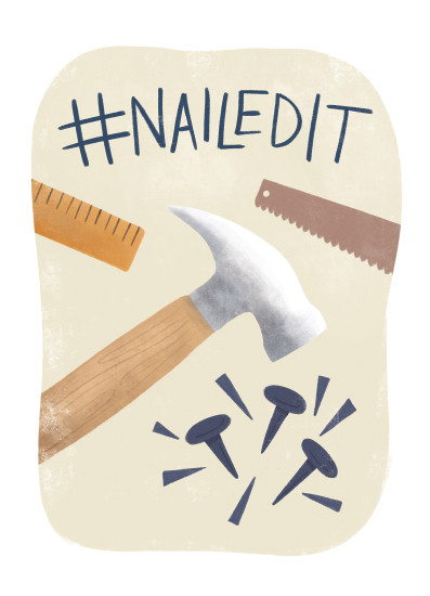 greeting card - Dad, You Nailed It by Noonday Design