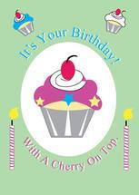 Birthday Cupcake by Kristen Niedzielski