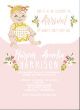 Flower Power Baby by Sherei Co.
