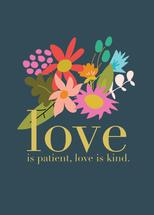 Love Is Kind by Paper Etiquette