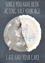 I ate half your cake by Alicia Abla