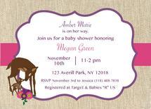 Deer Baby Shower invite by Jennifer Warren