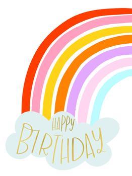 Cheerful Rainbow Birthday