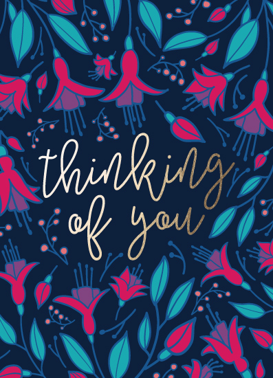 greeting card - Thinking of You Floral by Noonday Design