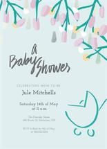 Showers and Flowers by Inkblot Graphic Design