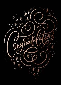 Congratulation Sparkle
