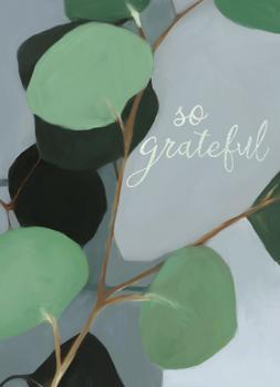 eucalyptus thank you card