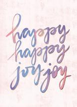 Happy Happy Joy Joy by Noonday Design