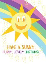 Sunny Birthday by Kristen Niedzielski