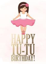 TU TU Birthday!! by Kathy Par