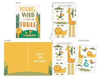 Young, Wild & Three!