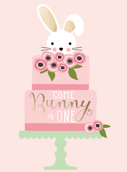 greeting card - Sweet Some Bunny by Blair Stratton