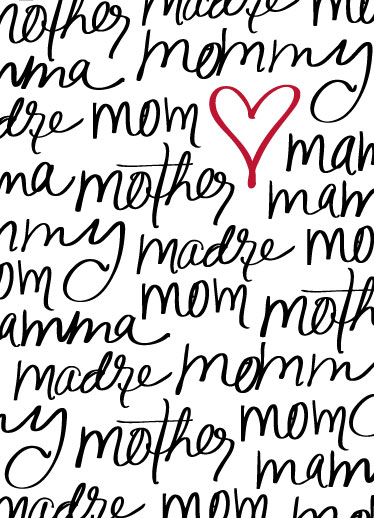 greeting card - Mom, You're Beautiful by Cindy Reynolds
