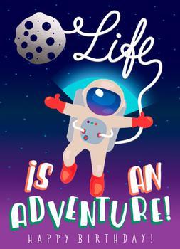 Adventurer Astronaut's Birthday