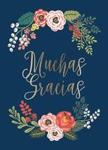 Muchas Gracias Wreath by Chelsea And Marbles Paper