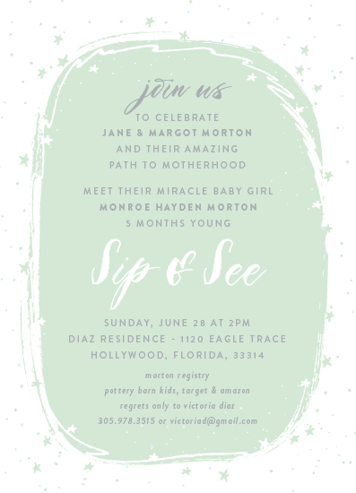 baby shower invitations - Motherhood Party by Kate Ross