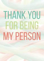You're My Person by Cindy Reynolds